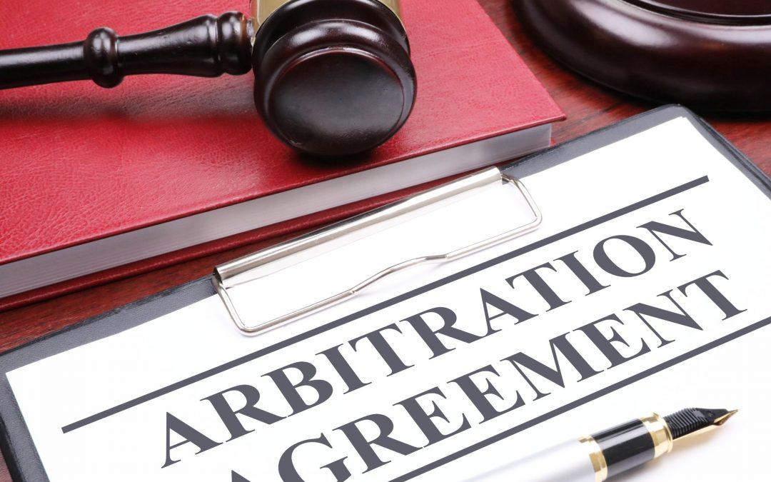 Arbitration (third) – Arbitration or Court?